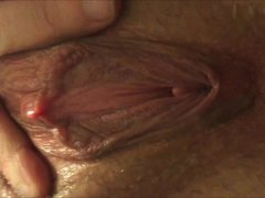 Closeup of a Creamy Squirting Pussy