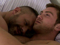 Dick loves to wake up with Connor for some intense gay sex