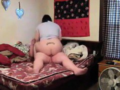 BBW And Her Man Have A Quick Fucking
