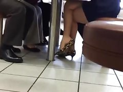 Candid High Heel Danglong Sexy Legs & Feet