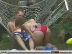 girl getting fucked in the backyard - Brother's friend films it 2