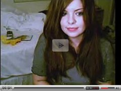 Teenage whore on webcam
