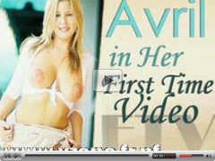 Avril in her first time video