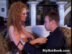 Audrey Hollander is a lovely redhead who happens t