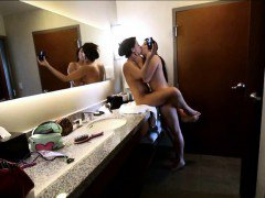 Sizzlin hot lesbos Karlee Grey and Zoey Monroe first sextape