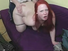Euro lady paid to show off her firm tits and ass before shes fucked