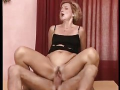 German Granny Laura Gets Pounded Out Anal Style