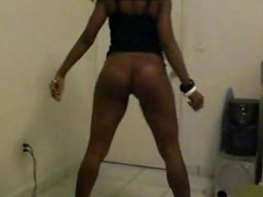 hot ebony twerk