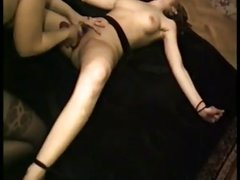 some girl tied and fucked by girlfriend