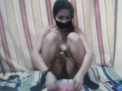 Kidnapped Sex Slave Almiera is played with.---Part 2