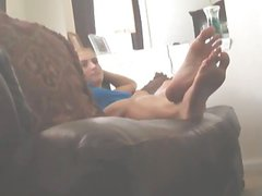 College Girls Feet & Soles secretly taped by friend