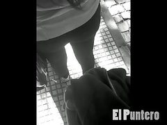 Cum On Ass In Public At Bus Stop Encoxada Grope Dick Flash
