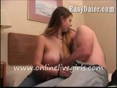 hot big boobed real wife caught cheating by husband