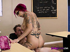 Teacher Anna Bell Peaks Gets Fucked And Facialized