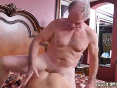 Old classic and old man young girl creampie