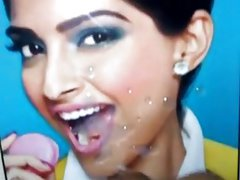 I filled sonam kapoor's mouth with my cum