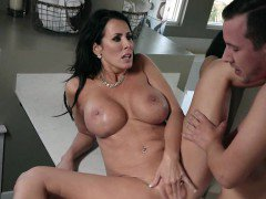 Sexy Cougar Reagan Foxx Enjoys Big Cock Of Stepson