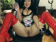huge mature asian big tits webcam         by oopscams