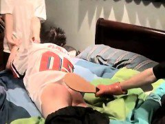 Spanking sweet young boys gay Kelly Beats The Down Hard