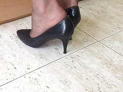 My Wife's heels. Spy Cam
