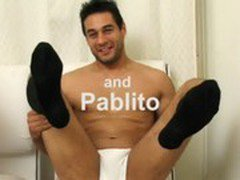 Pablito and Kevin are horny for each other&#039_s socks.