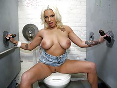 Lylith LaVey Having Fun With Black Cocks - Gloryhole