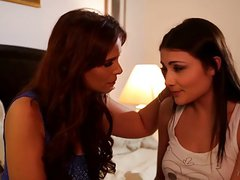 Tiny babe and her stepmom - Syren De Mer, Adria Rae