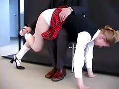 How to spank a naughty girl