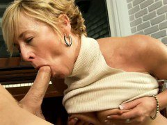 hot latina lick it up from the table