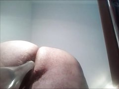 Busty mature gives handjob and gets fucked