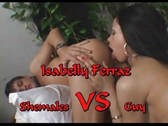 Shemale VS Guy (Isabelly Ferraz )