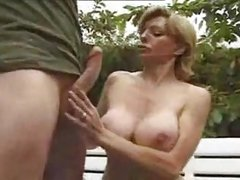 Beautiful Mommy Seduces Young Lover
