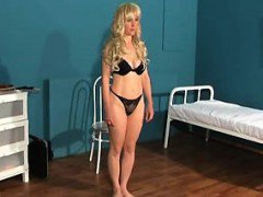 Adult ballerina that is 36yo in club BDSM casting that is a