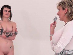 Unfaithful british mature gill ellis pops out her massive ti
