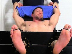 Cute boy suck his own feet gay Casey More Jerked & Tickled