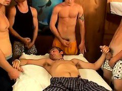Australian gay sex movies One by one, Jeremiah, Riley & Mike