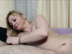 Homemade Amateur Blowjob with Blonde