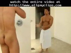 Shower Time Fun Time  gay porn gays gay cumshots swallow stud hunk