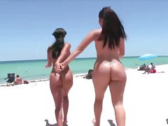 Ava Addams and Miss Raquel - Bangbros Bubble Butts