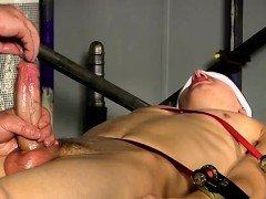 Video of bondage underwear gay xxx Wanked  edged  and over,