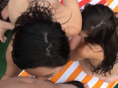 Amateur threesomes with real amateur girlfriends and a bff