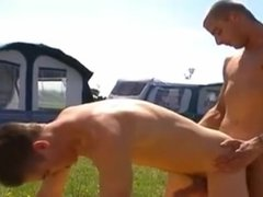 Two gay Guys Sucking Dick And Fucking A Camping Trip