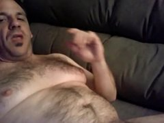 Very hot daddy bear with fat cock