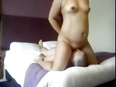 Pure Indian Desi Bhabhi with foreigner