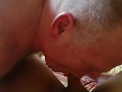 Toys and tongues make hot lesbian lovers cum