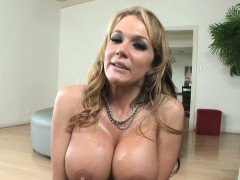 Busty milf tittyfucked after teasing in pov
