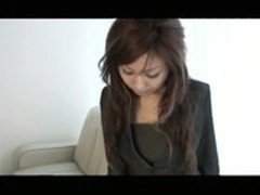 a woman office worker modeling as an amateur model - Juri 1