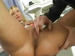 Blonde muscle mature