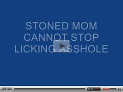 DIVORCED MOM GETS STONED..