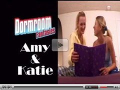 Amy and Katie blonde lesbians part 1